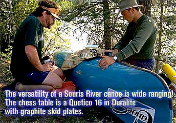 Souris River Quetico 16 Duralite Canoe