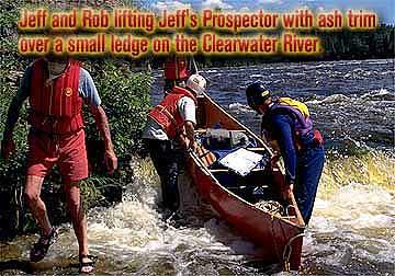 Jeff's Souris River Prospector Canoe