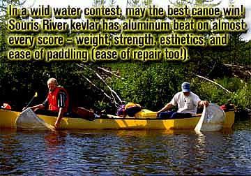 Souris River Kevlar Canoes