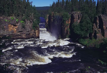 Skull Canyon on Northern Saskatchewan's Clearwater River