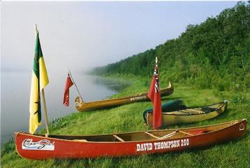 A misty morning on the South Saskatchewan River