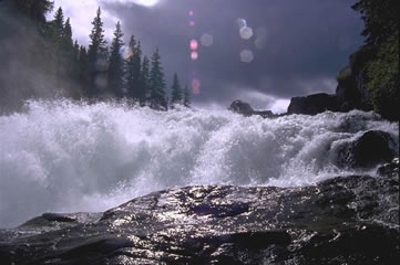Nistowiak Falls on the Churchill River