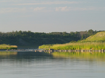 South Saskatchewan River near Batoche