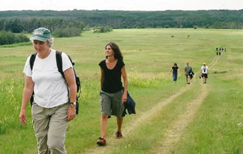 Hiking the Carlton Trail to Batoche