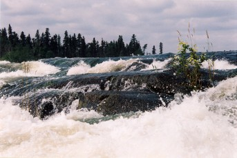 Robertson Falls on the Churchill River